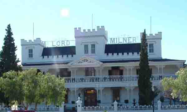 The Lord Milner Hotel Today With Its Three Turrets