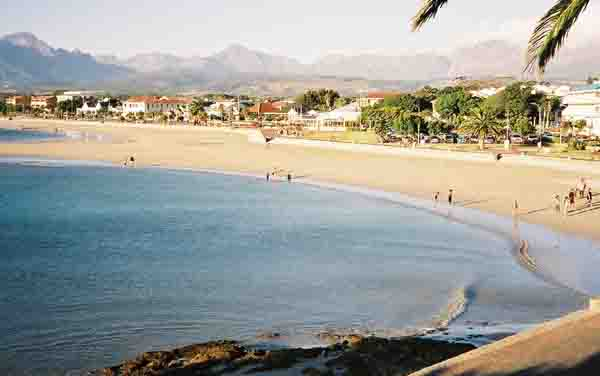 Beach at Gordons Bay